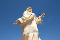 Jesus Christ Statue at Mining City of Calama, El Loa Province, Chile