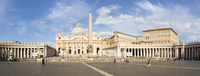 St Peter's Basilica and Square, Vatican City, Rome, Italy
