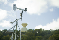 Domestic weather station