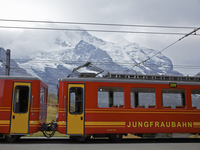 Jungfraubahn Mountain Train and Bernese Alps