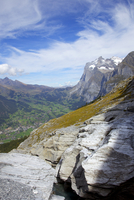 View of Bernese Oberland from Eiger Trail