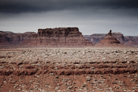 Sandstone Formations in the Valley of the Gods