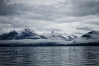 Clouds Formation over Mountains, Admiralty Island, Alaska, USA