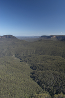 Blue Mountain Range with Three Sisters, Australia.