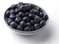A bowl of blueberries ingredients editorial food