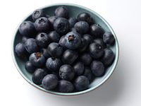 A bowl full of blueberries ingredients editorial food