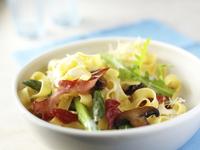 Parma Ham and Asparagus Tagliatelle