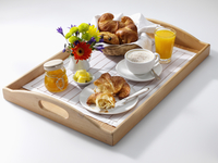 Continental Breakfast on a tray