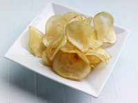 A bowl of game chips