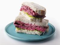 Silverside beef sandwich