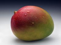 Whole ripe mango