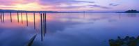 Germany, Lake Constance, Moos, sunrise