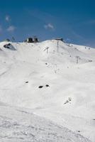 Switzerland, Arosa, Skiing region, ski lift
