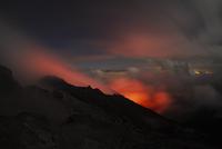 Guatemala, Pacaya, active volcano, Volcanic crater