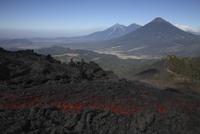 Guatemala, Pacaya volcano, Lava flow