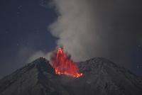 Indonesia, East Java, Semeru volcano, Eruption