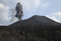 Indonesia, Anak Krakatau, Ash eruption