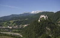 Austria, Salzburger Land, Hohenwerfen Castle
