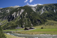 Austria, Krimmler Achental, Krimmler Ache river