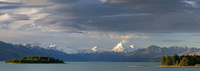 New Zealand,South Island,View across Lake Pukaki