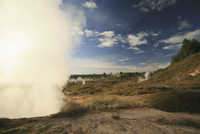 New Zealand, Geothermal activity, Steam