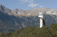 Austria, Tyrol, Innsbruck, Bergisel, Ski jump