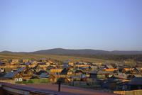 Russia, Lake Baikal, Small town, Chuschir