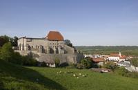 Germany, Bavaria, Tittmoning, Tittmoning castle