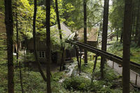 Germany, Bavaria, Upper Bavaria, Grossweil, Water mill in open air museum