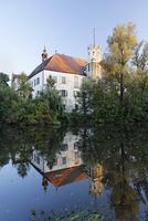 Germany, Lower Bavaria, View of arnstorf castle