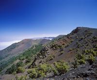 Spain, Canary Islands, El Hierro, View of malpaso mountain