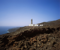 Spain, Canary Islands, El Hierro, View of orchilla lighthouse