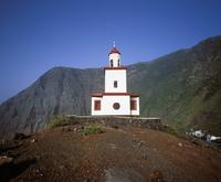 Spain, Canary Islands, El Hierro, La Frontera, View of candelaria church