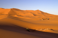 Morocco, View of Erg Chebbi Desert