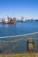 USA, Texas, Fulton Marina at Gulf of Mexico