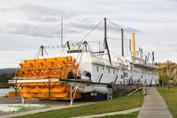 Canada, SS Klondike at Yukon River