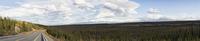 USA, Alaska, View of Mount Sanford and Mount Drum