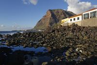 Europe, Spain, View of La Gomera and Valle Gran Rey