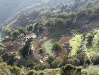 Spain, La Gomera, View of Cumbre de Chijere near Vallehermoso