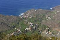 Spain, La Gomera, View of Mirador de Alojera