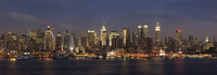 USA, New York State, New York City, View of Manhattan with Hudson river
