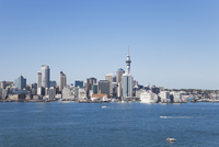 New Zealand, Auckland, View of city