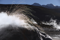Chile, View Tatio Geyser field
