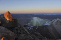 Bolivia, View of  Irrupuntucu volcano