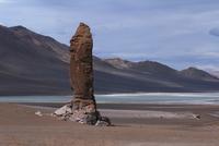 Chile, View at Moias of Tara