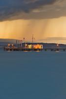 Germany, Ferry jetty at Lake Constance 20025329882  写真素材・ストックフォト・画像・イラスト素材 アマナイメージズ