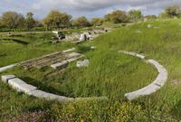 Turkey, Troy, View of Bouleuterion