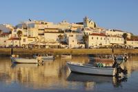 Portugal, Faro, View of Ferragudo