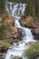 Canada, Alberta, Jasper National Park, Tangle Creek Falls