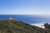 New Zealand, Northland, Cape Reinga, Lighthouse, Spirits Leap 20025330589| 写真素材・ストックフォト・画像・イラスト素材|アマナイメージズ